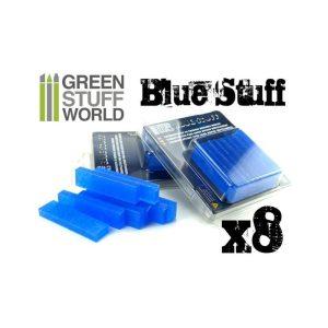 Green Stuff World   Mold Making Blue Stuff Mold (8 reusable bars) - 8436554365159ES - 8436554365159