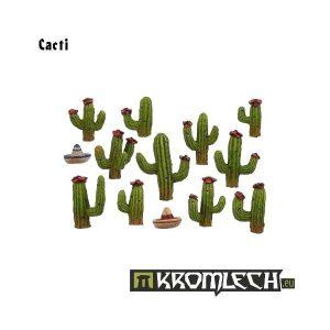 Kromlech   Basing Extras Cacti (11+2 sombreros) - KRBK005 - 5902216111875