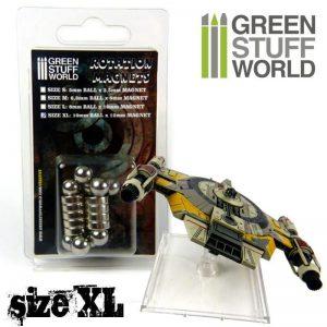 Green Stuff World   Magnets Rotation Magnets - Size XL - 8436554368433ES - 8436554368433