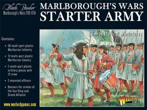 Warlord Games Black Powder  Marlborough's Wars Marlborough's Wars Starter Army - 302015001 - 5060393704621