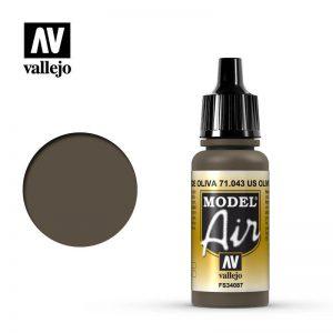 Vallejo   Model Air Model Air: US Olive Drab - VAL043 - 8429551710435