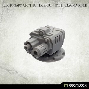 Kromlech   Legionary Conversion Parts Legionary APC Thunder Gun with Magma Rifle - KRVB079 - 5902216118980