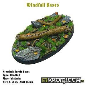 Kromlech   Windfall Bases Windfall oval 75x45mm (1) - KRRB030 -