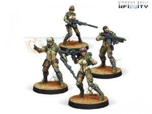 Corvus Belli Infinity  Haqqislam Haqqislam Ghulam Infantry - 280468-0483 - 2804680004833