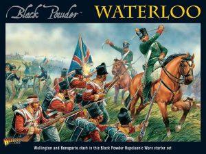 Warlord Games Black Powder  British (Napoleonic) Waterloo - Black Powder Starter Set (2nd Edition) - 301510002 - 5060572501461