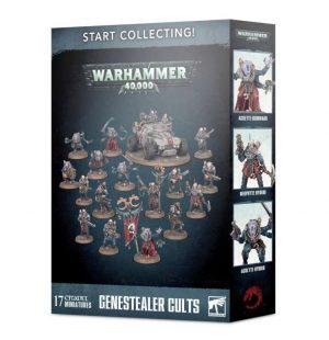 Games Workshop Warhammer 40,000  Start Collecting! Warhammer 40000 Start Collecting! Genestealer Cults - 99120117011 - 5011921110964