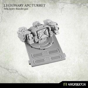 Kromlech   Legionary Conversion Parts Legionary APC turret: Twin Heavy Thunder Gun (1) - KRVB022 - 5902216113732