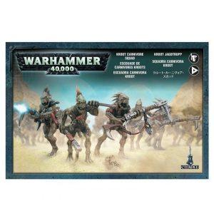 Games Workshop (Direct) Warhammer 40,000  40k Direct Orders T'au Empire Kroot Carnivores - 99120114001 - 5011921952526