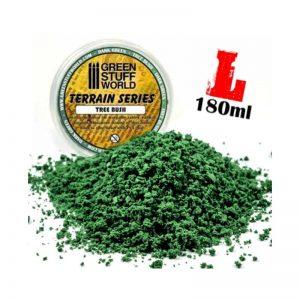 Green Stuff World   Lichen & Foliage Tree Bush Clump Foliage - Dark Green - 180 ml - 8436554365692ES - 8436554365692