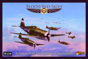 Warlord Games Blood Red Skies  Blood Red Skies Blood Red Skies: Republic P-47 Thunderbolt Squadron - 7722111014 -