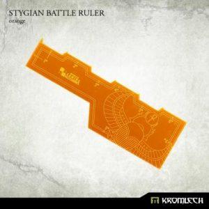 Kromlech   Tapes & Measuring Sticks Stygian Battle Ruler [orange] (1) - KRGA027 - 5902216114210