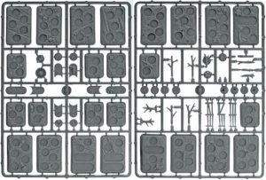 Gale Force Nine Flames of War  Plain Bases Flames of War: Plastic Bases (Rural) - XX107 - 9420020219724