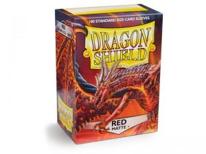 Dragon Shield   Dragon Shield Dragon Shield Matte Sleeves Red (100) - DS100MR - 5706569110079