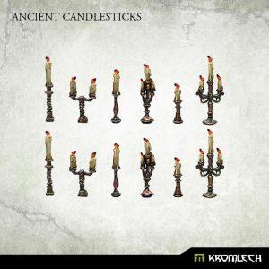 Kromlech   Misc / Weapons Conversion Parts Ancient Candlesticks (12) - KRBK034 - 5902216118027