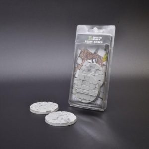 Gamers Grass   Temple Resin Bases Temple Bases Round 60mm (x2) - GGRB-TR60 - 738956789624