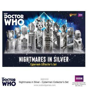 Warlord Games Doctor Who  Doctor Who Doctor Who: Nightmares in Silver - 602210101 - 5060393706441