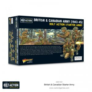 Warlord Games Bolt Action  Great Britain (BA) British & Canadian Army (1943-45) Starter Army - 402011021 - 5060572507173