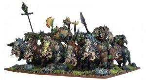 Mantic Kings of War  Orcs Orc Gore Riders - MGKWO60-1 - 5060208863123