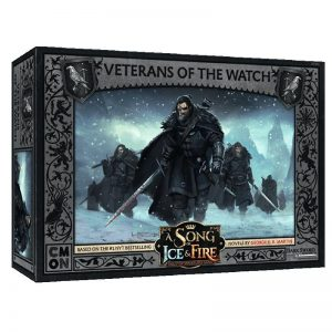 Cool Mini or Not A Song of Ice and Fire  Night's Watch A Song of Ice and Fire: Night's Watch Veterans of the Watch - CMNSIF303 - 889696009364