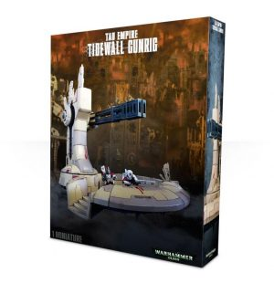 Games Workshop (Direct) Warhammer 40,000  40k Terrain T'au Empire Tidewall Gunrig - 99120113047 - 5011921066568