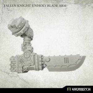 Kromlech   Heretic Legionary Conversion Parts Fallen Knight Unholy Blade Arm (1) - KRVB101 - 5902216119918