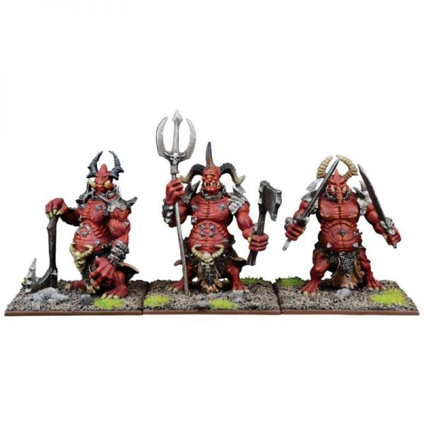 Mantic Kings of War  Forces of the Abyss Moloch Regiment - MGKWA103 - 5060208868517