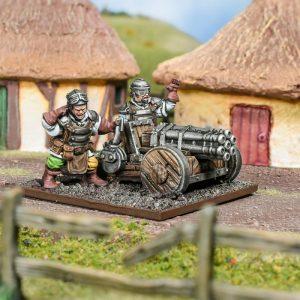 Mantic Kings of War  Halflings Halfling Howitzer - MGKWHF403 - 5060469667270