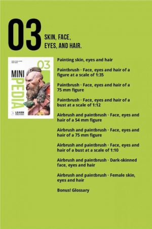 Scale75   Painting Guides Minipedia 03 - Skin, face, eyes and hair - MiniPed03 -