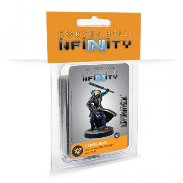 Corvus Belli Infinity  O-12 O-12 Cyberghost (Hacker, Pitcher) - 282014-0884 - 2820140008845