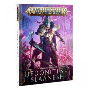 Games Workshop Age of Sigmar  Hedonites of Slaanesh Battletome: Hedonites of Slaanesh - 60030201024 - 9781839062216
