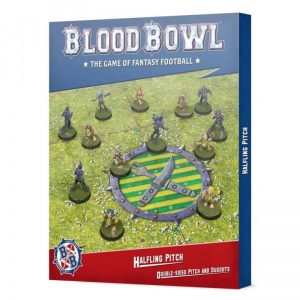 Games Workshop (Direct) Blood Bowl  Blood Bowl Blood Bowl: Halfling Pitch: Double-sided Pitch and Dugouts - 99220999018 - 5011921155033