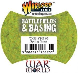Warlord Games   Sand & Flock Warlord Scenics: Spring Grass - WGS-STG-02 - 5060393702702