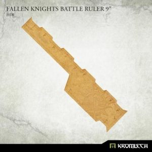 Kromlech   Tapes & Measuring Sticks Fallen Knights Battle Ruler 9in - KRGA093 - 5908291070328