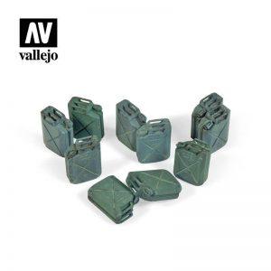 Vallejo   Vallejo Scenics Vallejo Scenics - 1:35 Allied Jerrycan Set - VALSC206 - 8429551984768