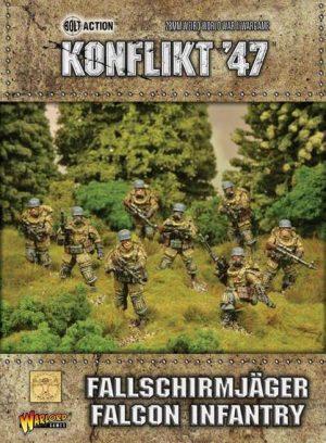 Warlord Games Konflikt '47  SALE! Fallschirmjager Falcon Infantry - 452210203 - 5060393704812