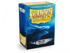 Dragon Shield   Dragon Shield Dragon Shield Sleeves Blue (100) - DS100BLU - 5706569100032