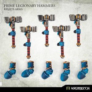 Kromlech   Legionary Conversion Parts Prime Legionaries CCW Arms: Hammers [right] (5) - KRCB269 - 5908291070915