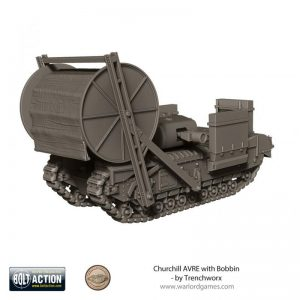 Warlord Games (Direct) Bolt Action  Great Britain (BA) Churchill AVRE with Bobbin - TW-20204 - -