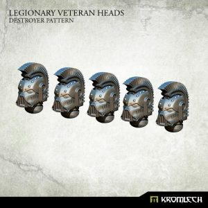 Kromlech   Legionary Conversion Parts Legionary Veteran Heads: Destroyer Pattern (5) - KRCB196 - 5902216115941