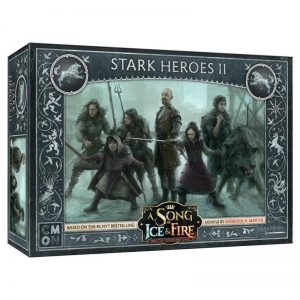 Cool Mini or Not A Song of Ice and Fire  House Stark A Song of Ice and Fire: Stark Heroes #2 - CMNSIF110 - 889696009074