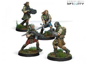 Corvus Belli Infinity  Ariadna 45th Highlander Rifles - 280172-0527 - 2801720005270