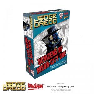 Warlord Games Judge Dredd  Judge Dredd Judge Dredd: Denizens of Mega City - 652210203 - 5060572505230