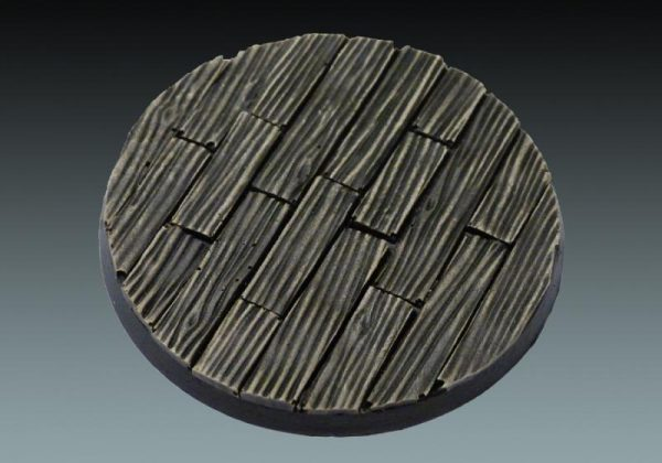 Baker Bases   Plank / Decking Plank: 60mm Round Base - CB-PL-01-60M - CB-PL-01-60M