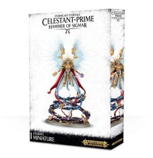 Games Workshop (Direct) Age of Sigmar  Stormcast Eternals Stormcast Eternals Celestant-Prime - 99120218001 - 5011921061181