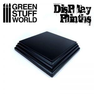 Green Stuff World   Display Plinths Square Top Display Plinth 8x8 cm - 8436574501636ES - 8436574501636