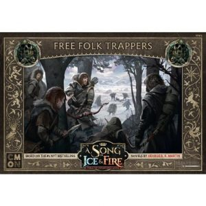 Cool Mini or Not A Song of Ice and Fire  Free Folk A Song of Ice and Fire: Free Folk Trappers - CMNSIF403 - 889696009340