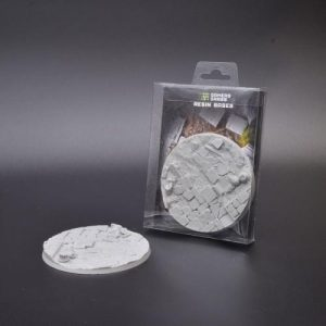 Gamers Grass   Temple Resin Bases Temple Bases Round 100mm (x1) - GGRB-TR100 - 738956789631
