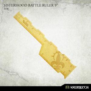 Kromlech   Tapes & Measuring Sticks Sisterhood Battle Ruler 9in [HDF] - KRGA080 - 5902216119635