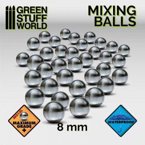 Green Stuff World   Green Stuff World Tools Mixing Paint Steel Bearing Balls in 8mm - 8436554365302ES - 8436554365302