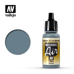 Vallejo   Model Air Model Air: Medium Grey - VAL114 - 8429551711142